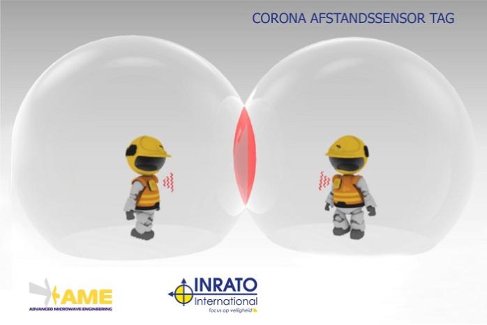 Corona afstandssensor tag