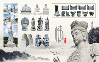 Haobostone wird an 11. Xiamen International Buddhist Items &