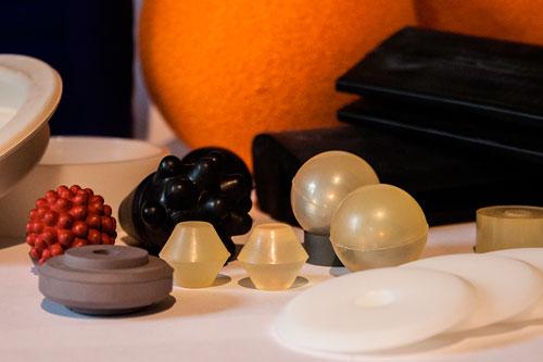 Rubber onderdelen voor de zeef industrie