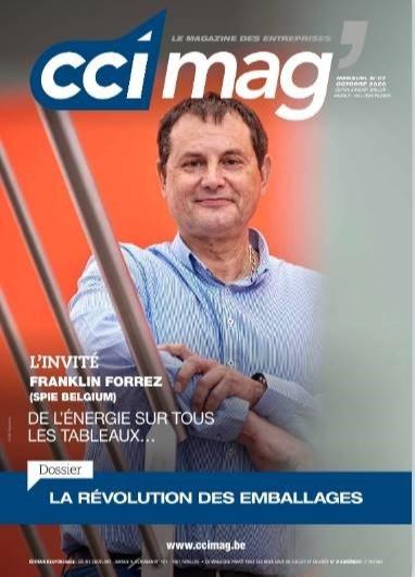 Le CCI Mag d'octobre sur l'emballage