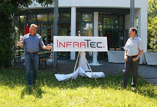 InfraTec mit neu gestaltetem Logo