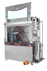Nueva máquina de limpieza de filtros de partículas