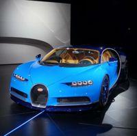 La nouvelle Bugatti CHIRON