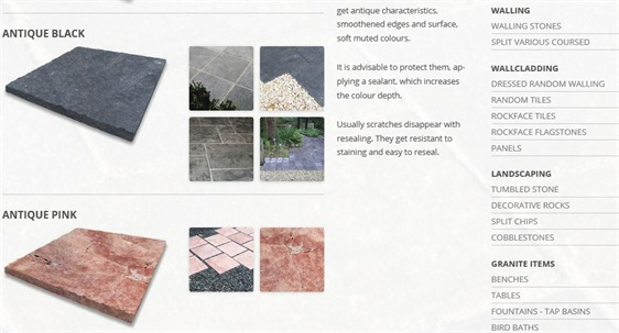 Antique Natural Sandstone Paving Slabs