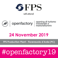 "F.P.S. will be present at the ""Open Factory"" event 2019"