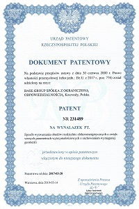 Patent of manufacturing power switchgear housings