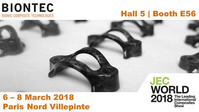 BIONTEC at JEC World 2018