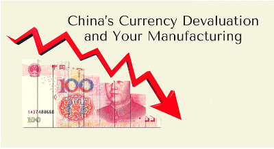 China's Currency Devaluation and Your Manufacturing