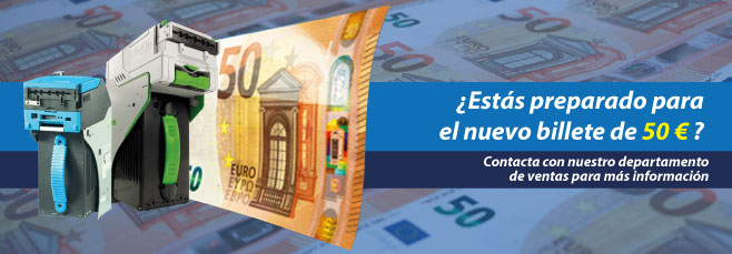 ¿Estás preparado para el nuevo billete de 50 €?