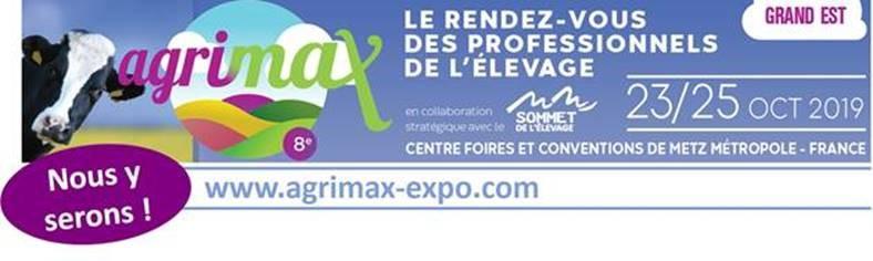GNB Beton sera présent au Salon Agrimax à Metz