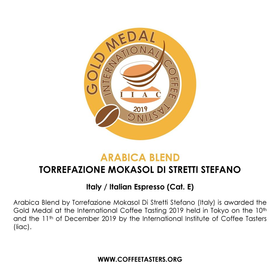 Arabica Blend - Gold Medal @ ICT 2019