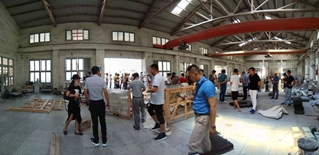 Welcome STA to visit Haobo stone office and two factories