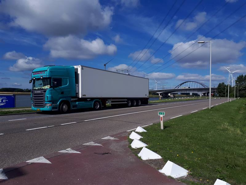 Groen transport HOLLAND - GRIEKENLAND