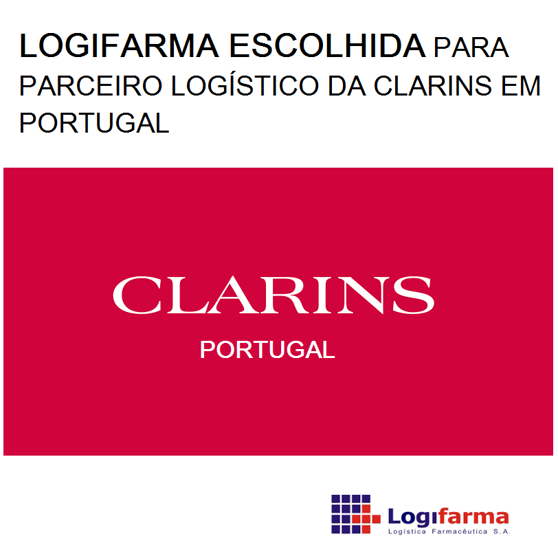 LOGIFARMA ESCOLHIDA POR CLARINS
