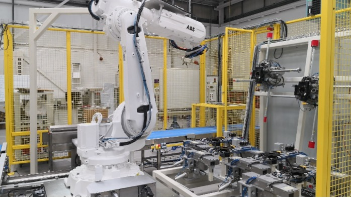 Robot Automated Punching System