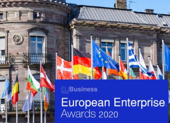Chatron na final dos European Enterprise Awards 2020