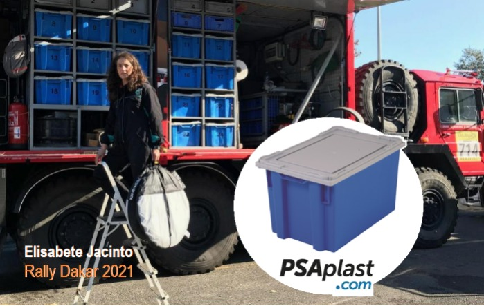 PSAplast plastic box - Rally Dakar