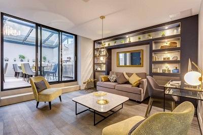 Architecture et décoration d'un Hôtel à Paris