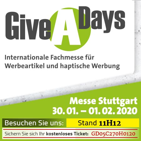 GiveADays 2020, Messe Stuttgart