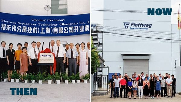 Sono passati 20 anni dalla fondazione di Flottweg China