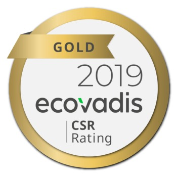ECOVADIS GOLD LEVEL