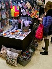 Bertoni-Grosshandel auf Messe Bazaar Berlin in Berlin