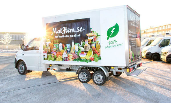 MatHem realiza ahora entregas 100% ecológicas