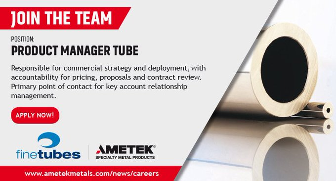 Product manager tube