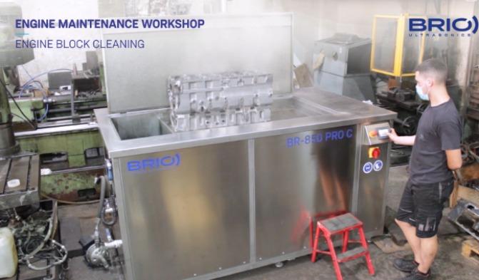 SERIE PRO - Limpieza por ultrasonidos para el mantenimiento