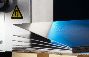 Magnetic sheet separators for robotic sheet metal handling