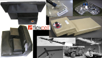 Bespoke rubberized fuel bladder tanks for any vehicles