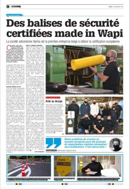 Des balises de sécurité certifiées made in Wapi