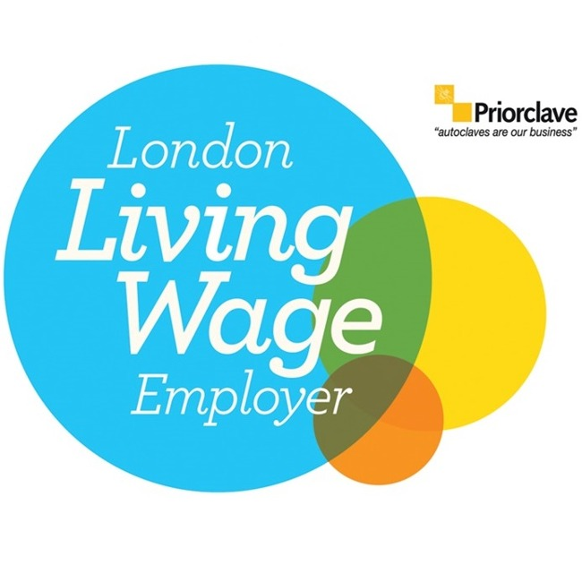 Priorclave Signs up to London Living Wage