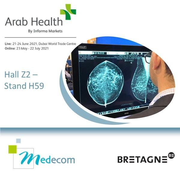 Medecom @ ArabHealth Online & Live