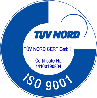 Certification quality control management system EN ISO 9001