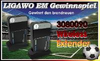 LIGAWO´s EM-Gewinnspiel: 1x 3080090 Wireless Extender