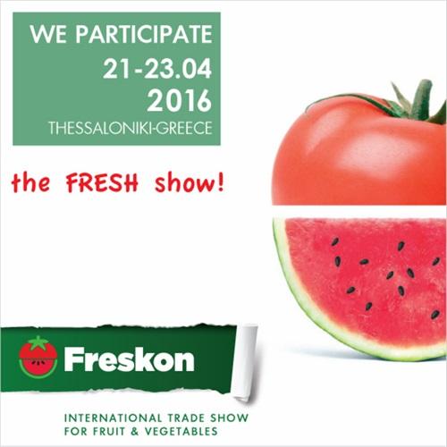 FRESKON THE FRUIT SHOW 2016 PARTICIPATING