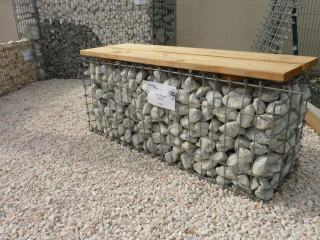 Gabions france entreprises for Decoration jardin gabion