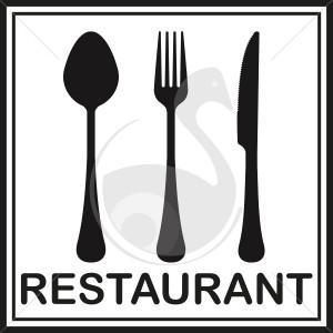 Couverts pour restaurant