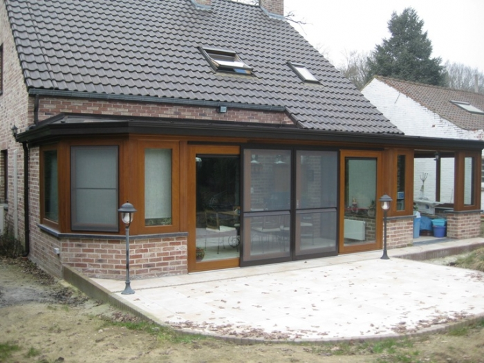 veranda en bois luxembourg id e inspirante pour la conception de la maison. Black Bedroom Furniture Sets. Home Design Ideas