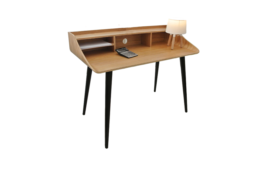 Bureau scandinave 419 gobi all wood for Bureau scandinave