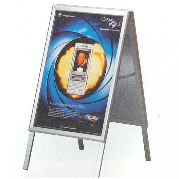 Panneau publicit aluminium for Panneau exterieur publicitaire