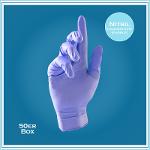 Med. Handschuhe, Purple Nitrile Xtra