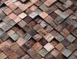 Natural Wood Mosaic Panels