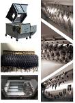 High Efficiency Copper Cable Single Shaft Shredder Machine