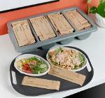 Enviroware compostable food packaging