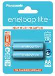 Batterie stilo ricaricabili Eneloop Lite 2pz