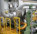 Integrally geared centrifugal compressor for process gases