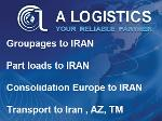 Groupages Europe to IRAN