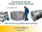 Centrifugation d'aluminium